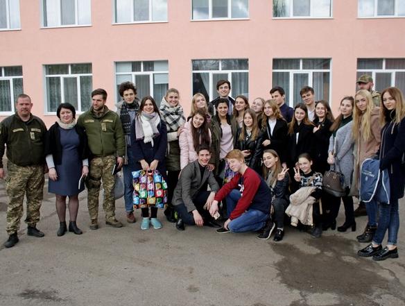 Бахмут во второй раз встретил «Поезд Единения Украины «Трухановская Сечь» (ФОТО), фото-12