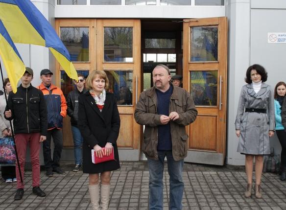 Бахмут во второй раз встретил «Поезд Единения Украины «Трухановская Сечь» (ФОТО), фото-6