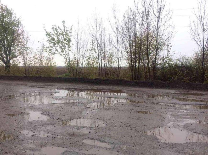 Под Мариуполем трасса государственного значения превратилась в бассейн с водой (Фотофакт), фото-4