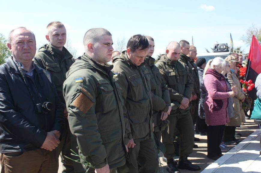 Херсонцы почтили память погибших в зоне АТО Героев (фото), фото-2