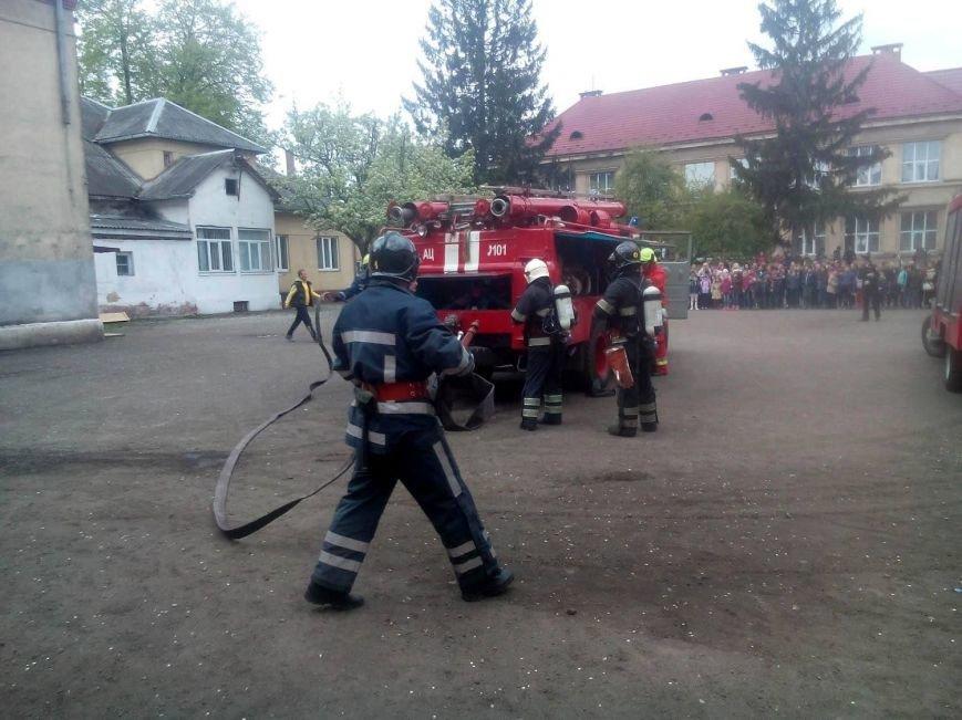 """У Перечині сталася """"пожежа"""" у школі: фото, фото-4"""