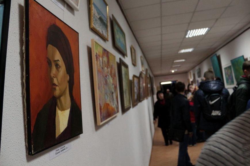 Выставка картин Никопольского союза художников, фото-1