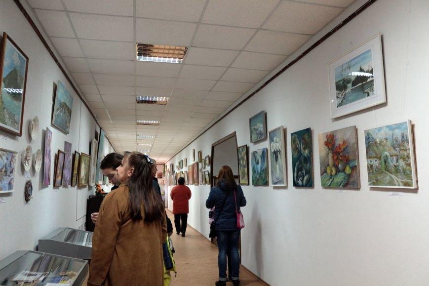Выставка картин Никопольского союза художников, фото-4