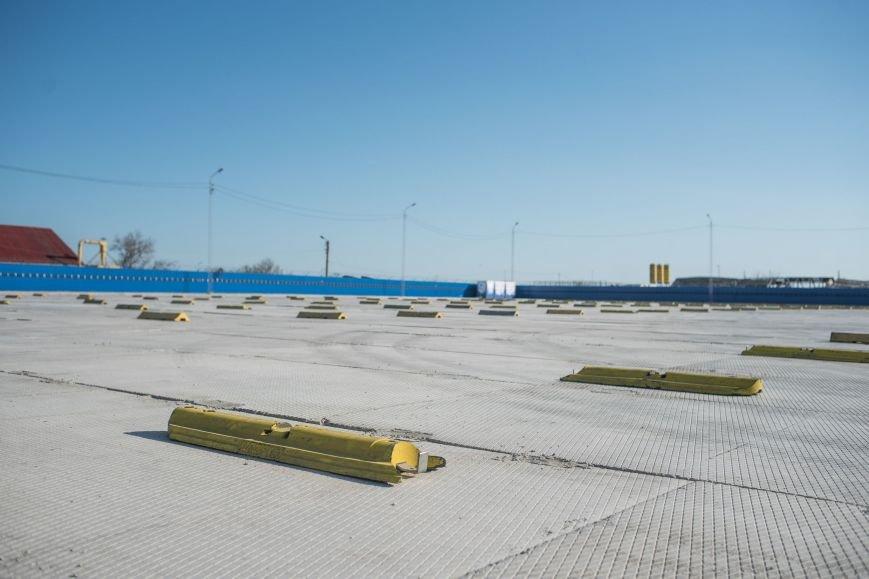 На Керченской переправе открылась новая накопительная площадка для 300 авто (ФОТО), фото-3