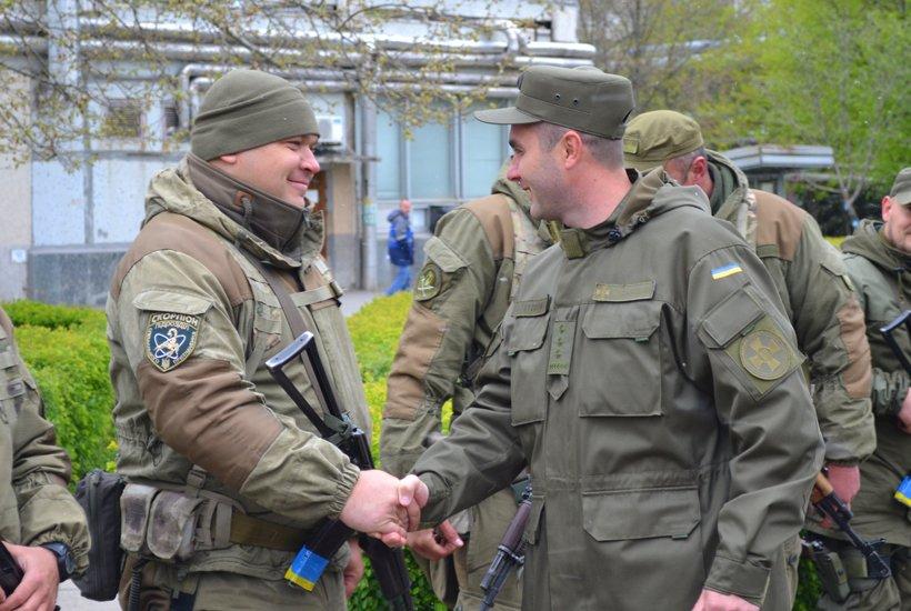 Южноукраинские нацгвардейцы вернулись из АТО, фото-3