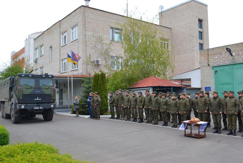 Южноукраинские нацгвардейцы вернулись из АТО, фото-1