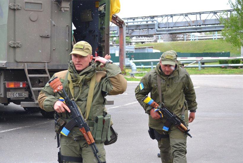 Южноукраинские нацгвардейцы вернулись из АТО, фото-2