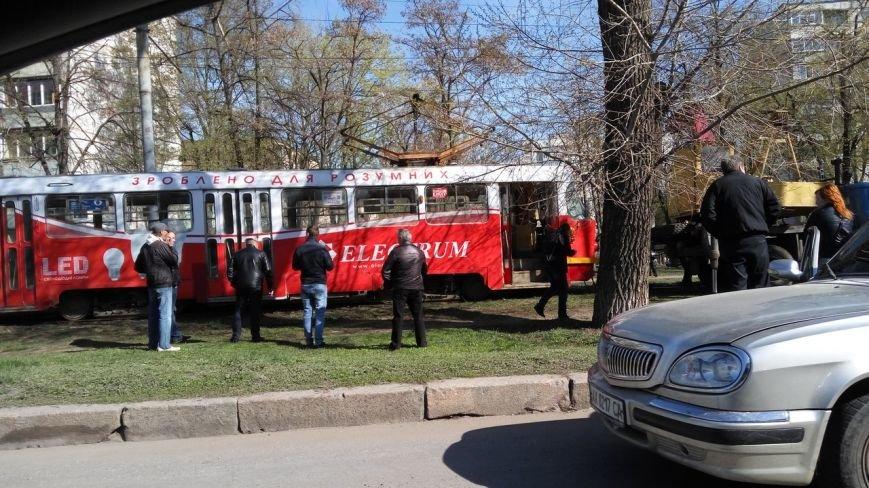 """В Харькове продолжают """"дрифтовать"""" трамваи (ФОТО), фото-1"""