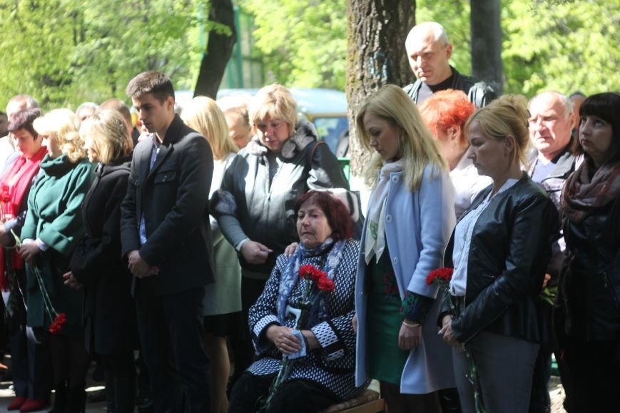 У ЗОШ № 15 вшанували пам'ять загиблого воїна Валерія Лізвінського, фото-1