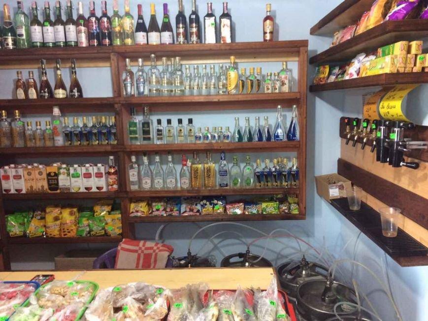 В Каменском полицейские изъяли алкоголь и сигареты на Сормовской, фото-1