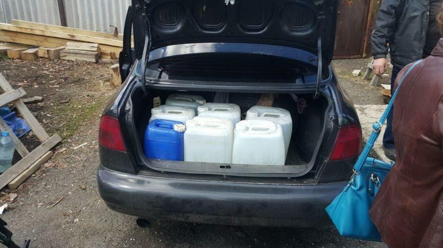 СБУ прекратила производство и реализацию контрафактного алкоголя в районе АТО, фото-3