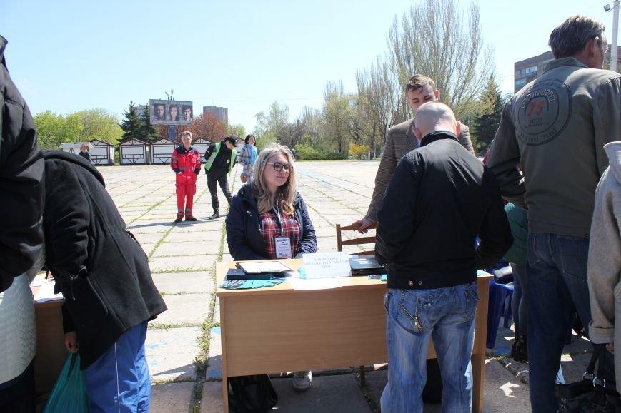 Мариупольцы искали на площади работу своей мечты (ФОТО), фото-4