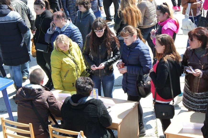 Мариупольцы искали на площади работу своей мечты (ФОТО), фото-3