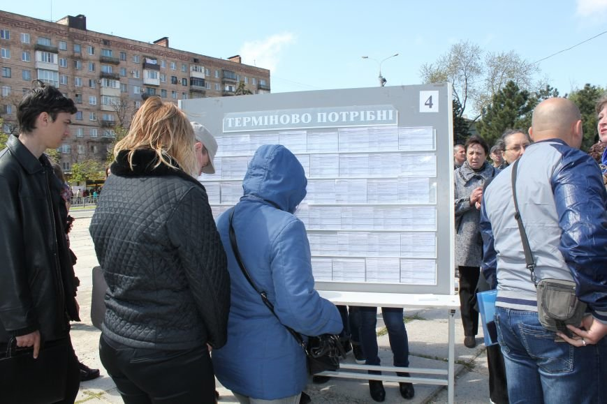 Мариупольцы искали на площади работу своей мечты (ФОТО), фото-8