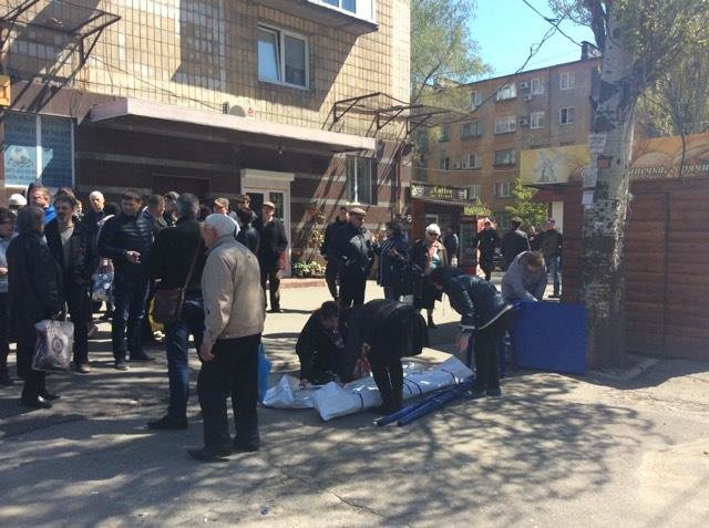 В Мариуполе Королевскую послали в Россию, а Федая - в тюрьму (ФОТО+ВИДЕО), фото-4