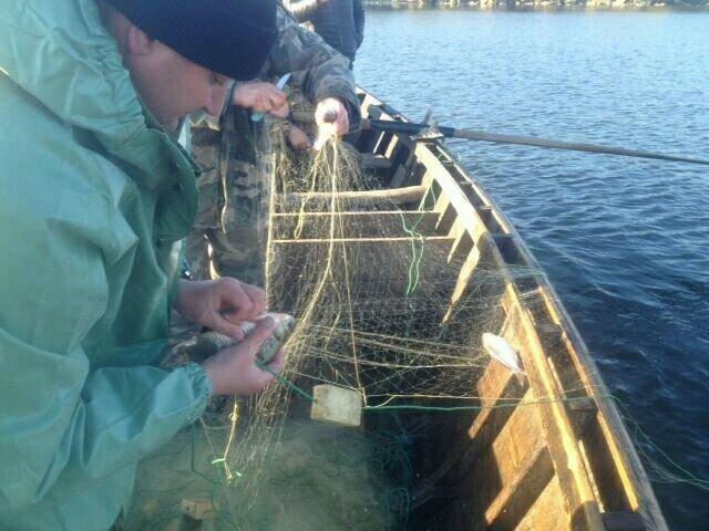 Полицейские в порту Херсон обнаружили браконьерские орудия лова рыбы (фото), фото-1
