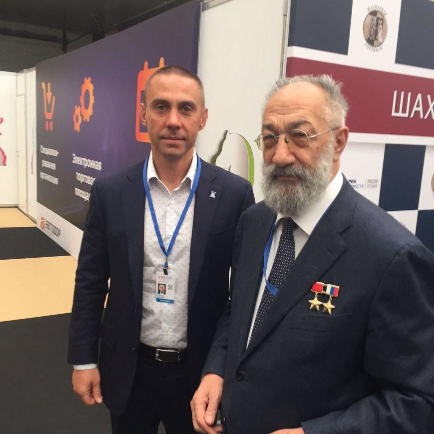 Губернатор принял участие вКЭФе