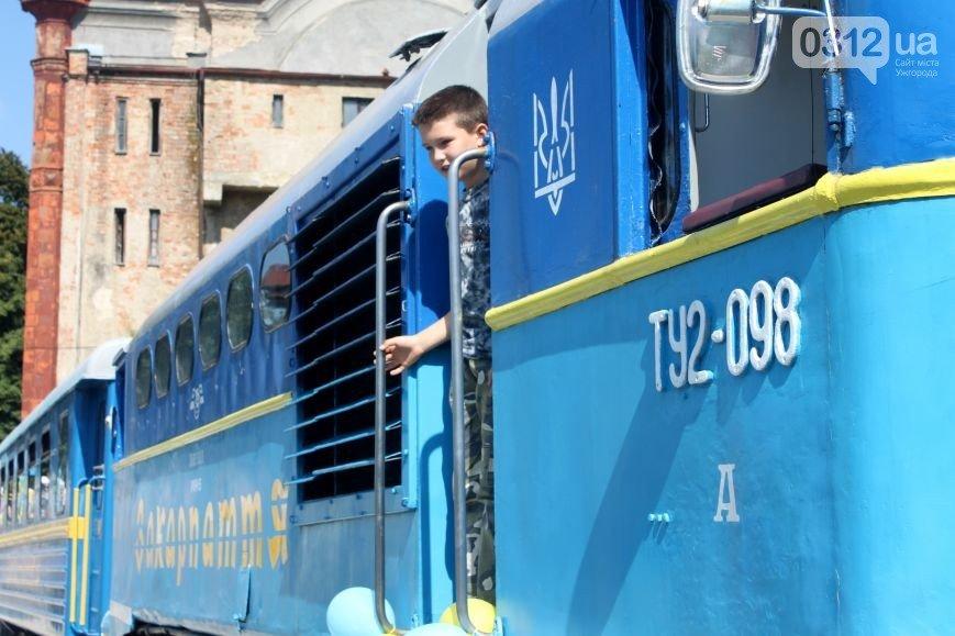 В Ужгороді з 1-го травня запрацює дитяча залізниця: фото, відео, фото-5