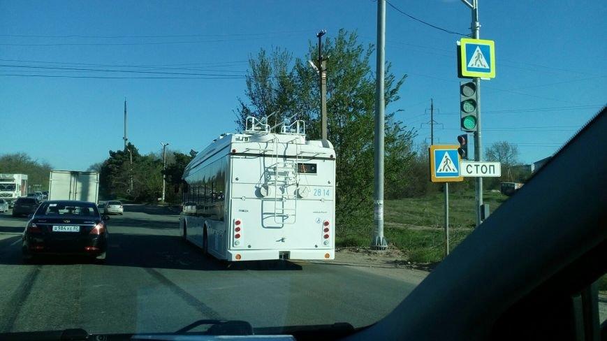 """В Симферополе запустили троллейбусы по маршруту №16 """"Марьино-Агроуниверситет"""" (ФОТО), фото-2"""