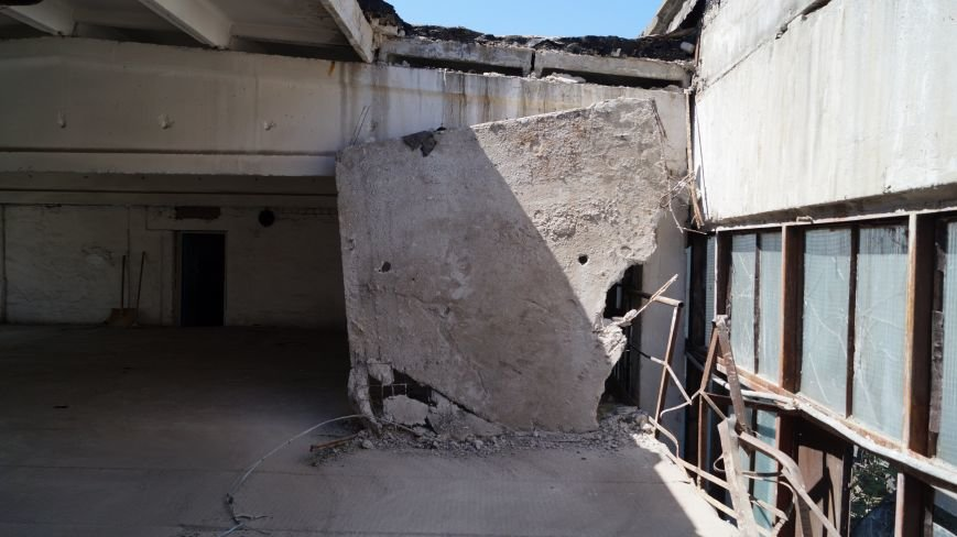 При обрушении перекрытия в павлоградской котельной никто не пострадал, фото-1