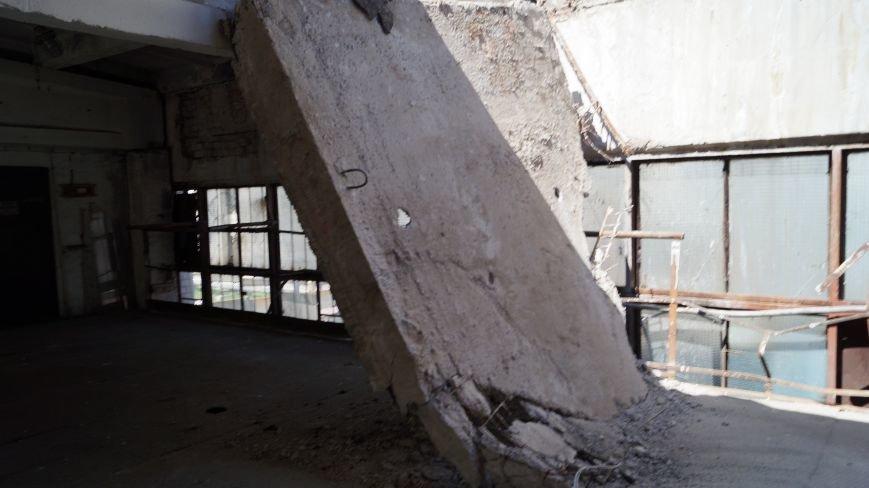 При обрушении перекрытия в павлоградской котельной никто не пострадал, фото-2