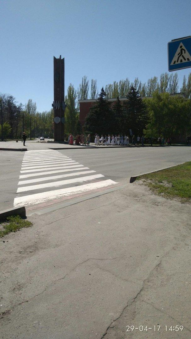 На улицах города звучали мантры, фото-2