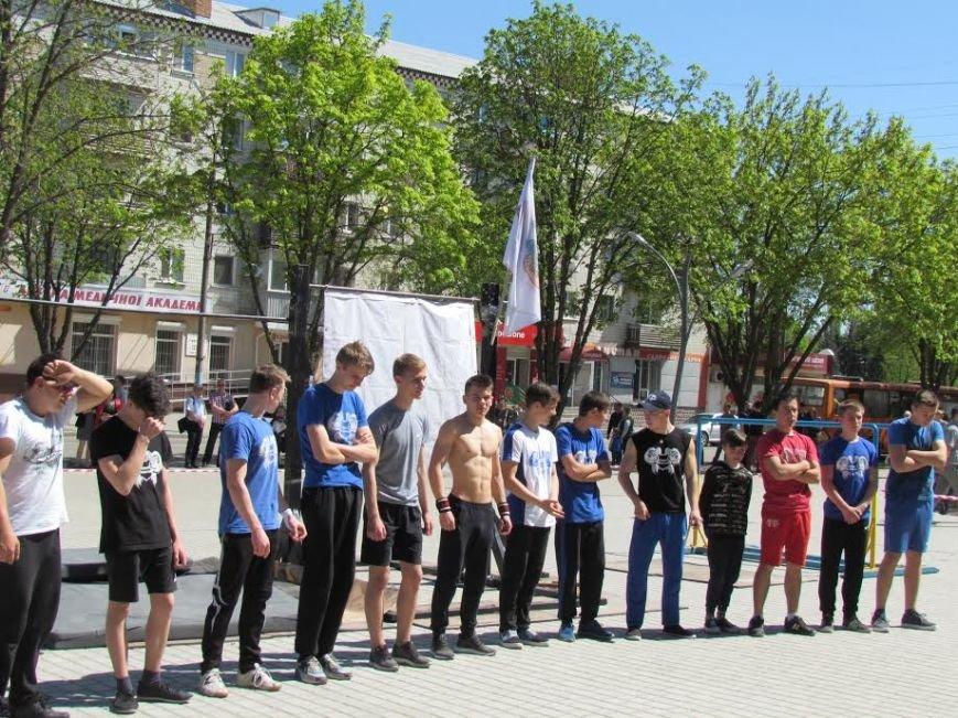 В центре Павлограда прошел турнир-фестиваль по Street Workout, фото-3