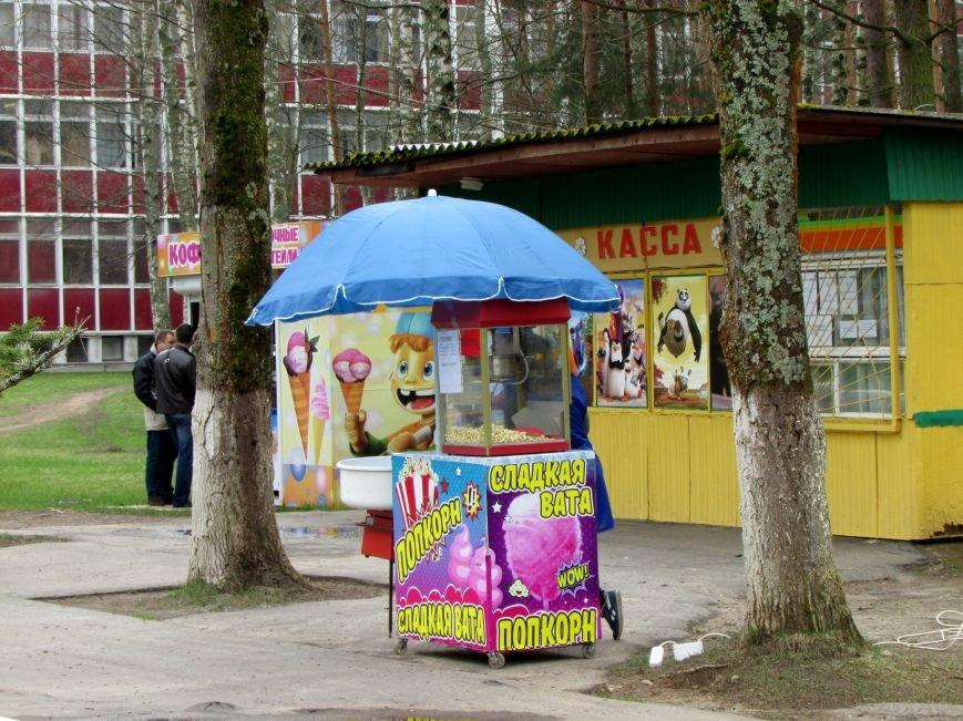 В Новополоцке вышел из спячки парк культуры и отдыха. ФОТОФАКТ, фото-7