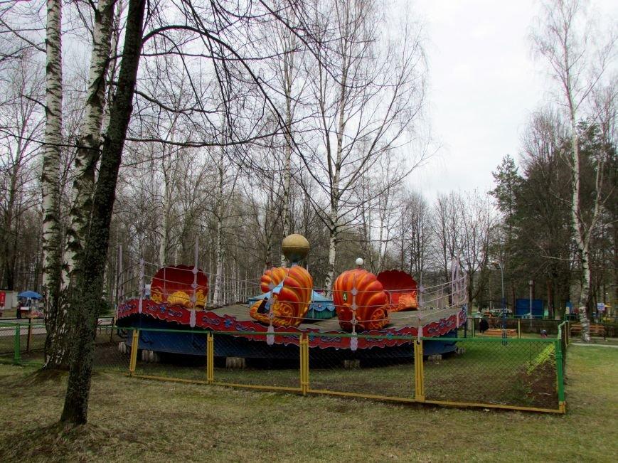 В Новополоцке вышел из спячки парк культуры и отдыха. ФОТОФАКТ, фото-8
