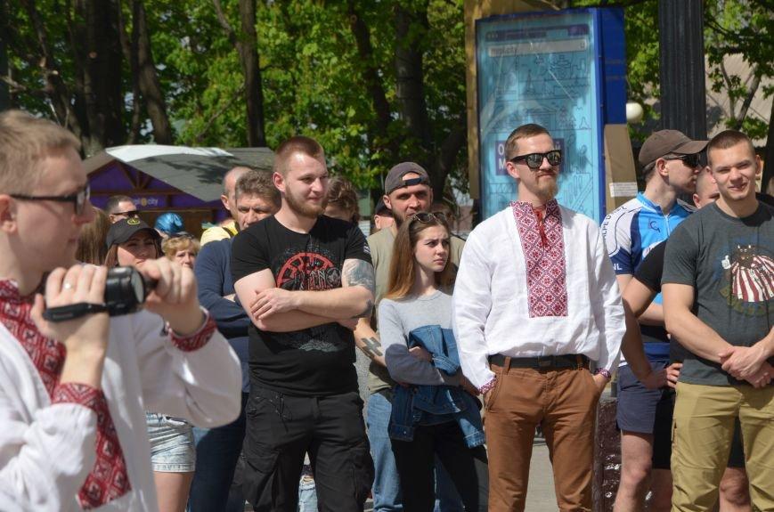 """""""Мариуполь - это Украина!"""" Жители города на митинге заявили, что свободно говорят на русском языке (ФОТО+ВИДЕО 360°), фото-3"""