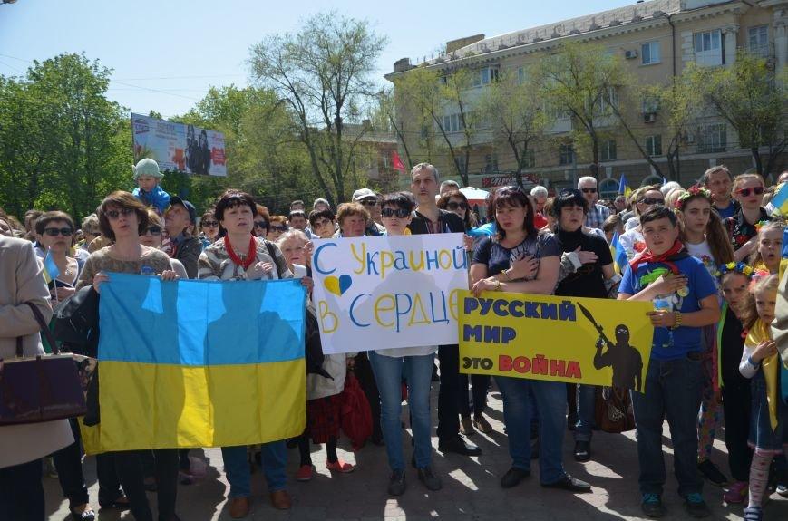 """""""Мариуполь - это Украина!"""" Жители города на митинге заявили, что свободно говорят на русском языке (ФОТО+ВИДЕО 360°), фото-15"""