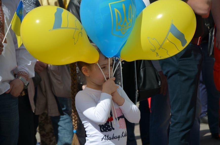 """""""Мариуполь - это Украина!"""" Жители города на митинге заявили, что свободно говорят на русском языке (ФОТО+ВИДЕО 360°), фото-26"""