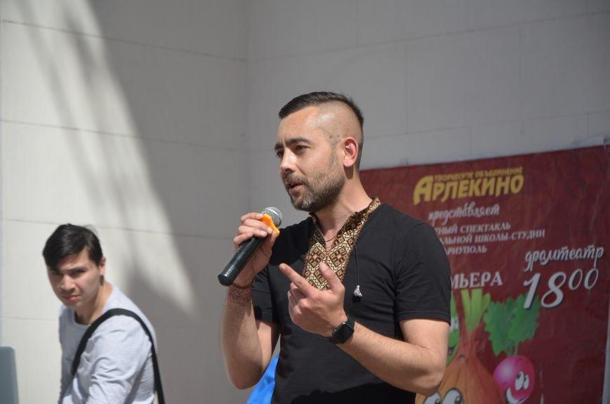 """""""Мариуполь - это Украина!"""" Жители города на митинге заявили, что свободно говорят на русском языке (ФОТО+ВИДЕО 360°), фото-27"""