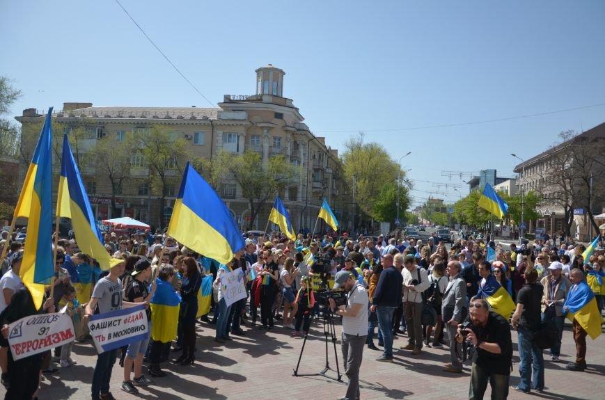 """""""Мариуполь - это Украина!"""" Жители города на митинге заявили, что свободно говорят на русском языке (ФОТО+ВИДЕО 360°), фото-10"""