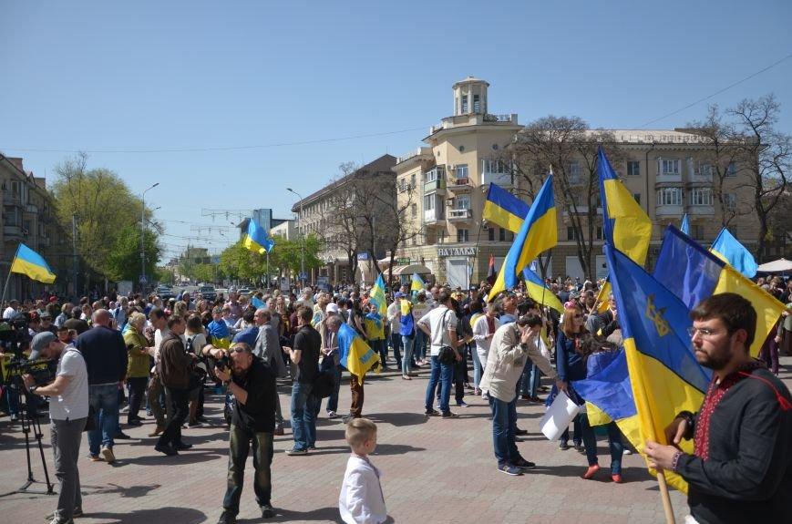 """""""Мариуполь - это Украина!"""" Жители города на митинге заявили, что свободно говорят на русском языке (ФОТО+ВИДЕО 360°), фото-9"""