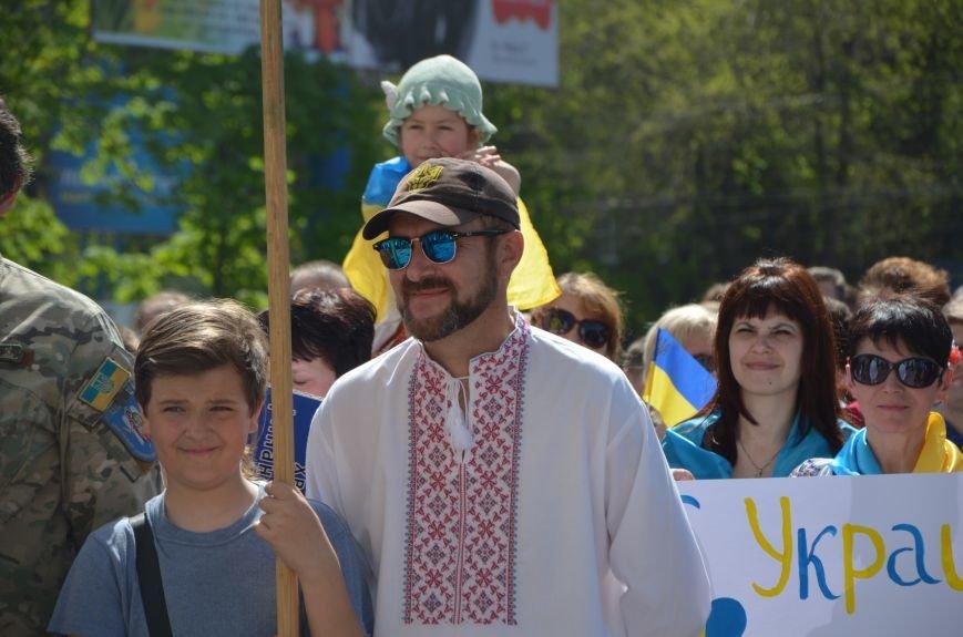 """""""Мариуполь - это Украина!"""" Жители города на митинге заявили, что свободно говорят на русском языке (ФОТО+ВИДЕО 360°), фото-29"""