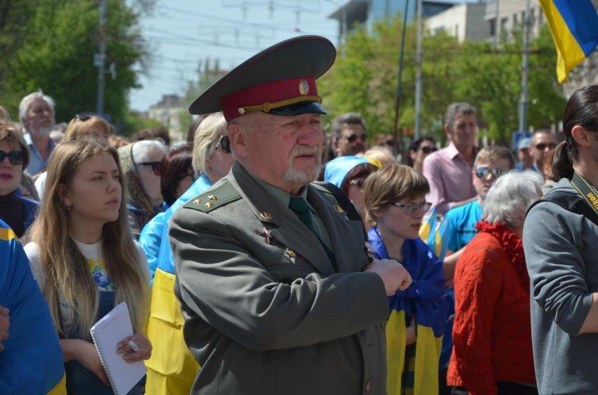 """""""Мариуполь - это Украина!"""" Жители города на митинге заявили, что свободно говорят на русском языке (ФОТО+ВИДЕО 360°), фото-13"""