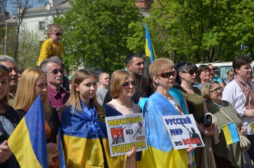 """""""Мариуполь - это Украина!"""" Жители города на митинге заявили, что свободно говорят на русском языке (ФОТО+ВИДЕО 360°), фото-22"""