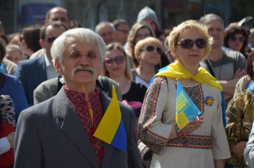 """""""Мариуполь - это Украина!"""" Жители города на митинге заявили, что свободно говорят на русском языке (ФОТО+ВИДЕО 360°), фото-28"""