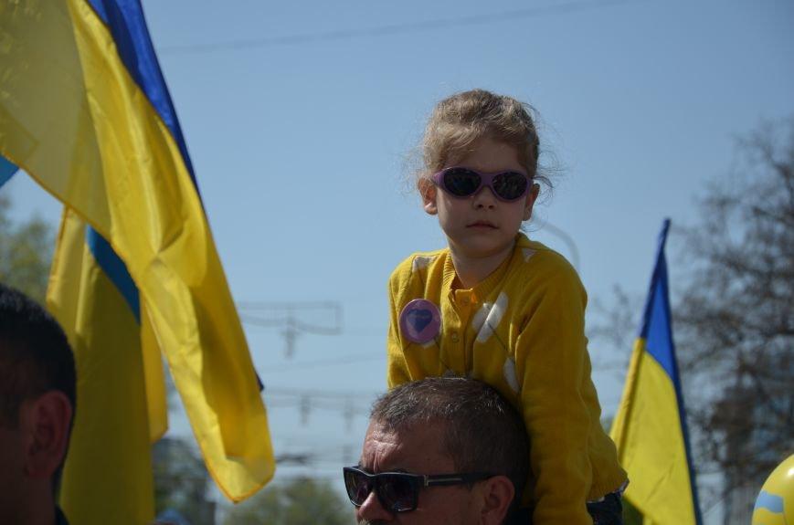 """""""Мариуполь - это Украина!"""" Жители города на митинге заявили, что свободно говорят на русском языке (ФОТО+ВИДЕО 360°), фото-24"""