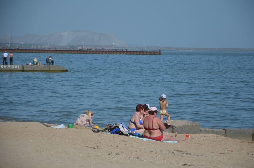 Мариупольцы преждевременно открыли пляжный сезон (ФОТО+ВИДЕО), фото-3