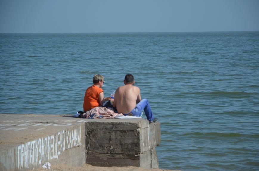 Мариупольцы преждевременно открыли пляжный сезон (ФОТО+ВИДЕО), фото-4