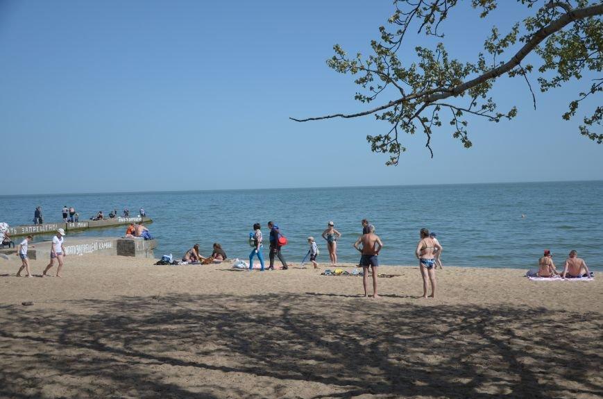Мариупольцы преждевременно открыли пляжный сезон (ФОТО+ВИДЕО), фото-1