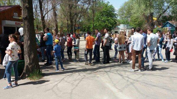 Как отмечают 1 мая в городском парке, фото-3