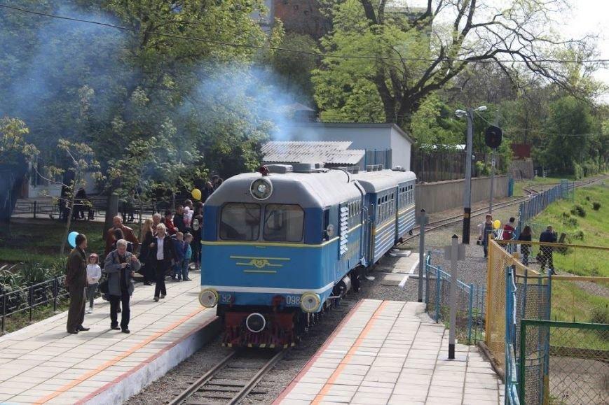 В Ужгороді розпочала роботу дитяча залізниця: фото, фото-2
