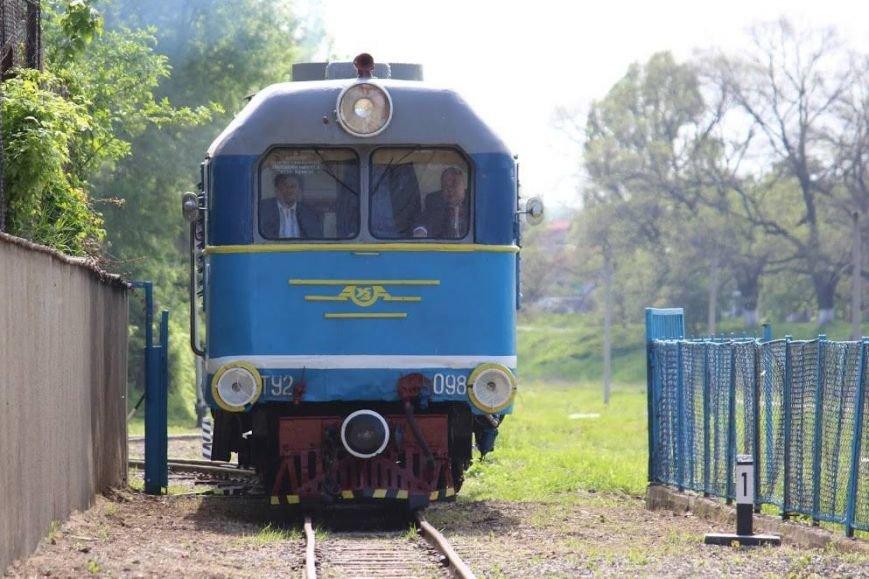 В Ужгороді розпочала роботу дитяча залізниця: фото, фото-1