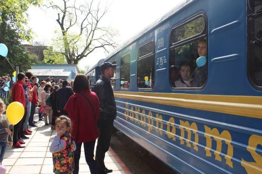 В Ужгороді розпочала роботу дитяча залізниця: фото, фото-3