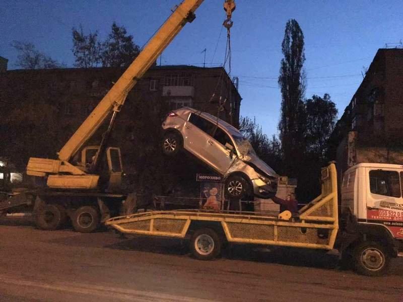 В Краматорске ночью произошло страшное ДТП, фото-1
