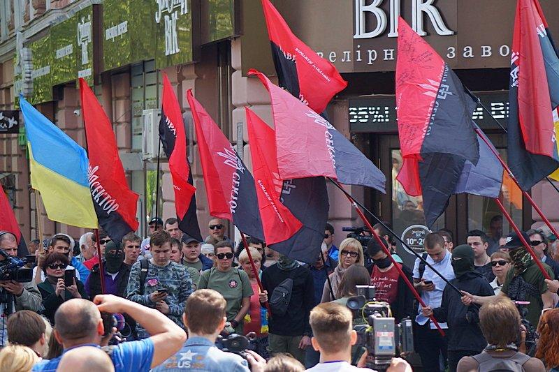 Патриоты почтили память первых погибших 2 мая в Одессе (ВИДЕО, ФОТО), фото-3