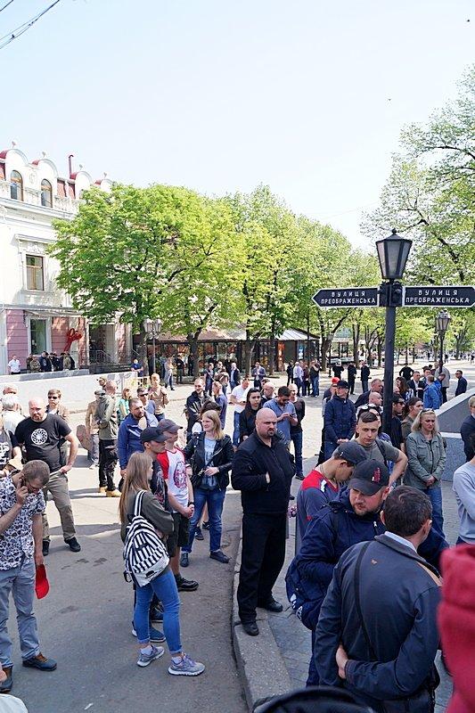 Патриоты почтили память первых погибших 2 мая в Одессе (ВИДЕО, ФОТО), фото-13